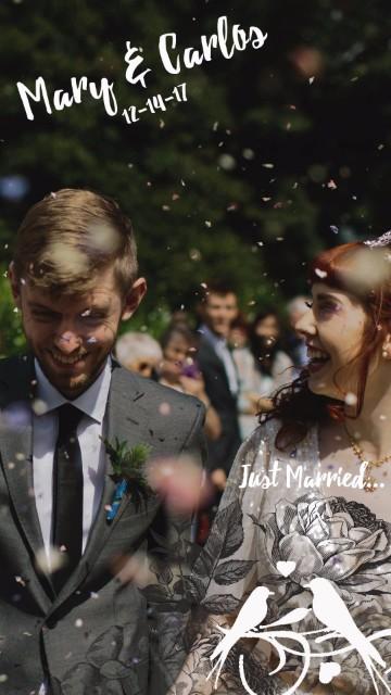 Wedding Snapchat Geofilters