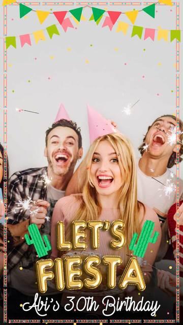 Celebration Snapchat Geofilters