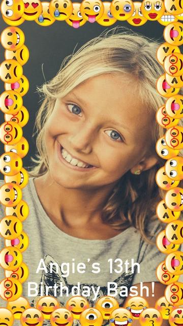 Kids Snapchat Geofilters